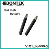 2012 E Cigarette New Popular EGO 5 LED Light Battery