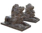Bronze Lion Sculpture, Bronze Casting Lion (SL639)