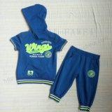 Fashion Boy Children Sport Suit Wear in Kids Clothes for Apparel Sq-6231