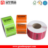 Coated Paper PP Pet PVC Material Thermal Sticker Label