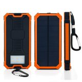 15000mAh Dual USB Solar Power Bank Portable