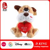 "13.8"" Valentine′s Gift Soft Plush Dog Toy"