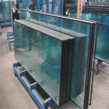 6+9A+6mm Flat Clear Insulated Glass for Building with Ce