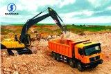 40t Dump Truck Shacman 340HP 8*4 Dump Truck Tipper for Sale