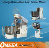 Bakery Equipment 300kg Removable Spiral Dough Mixer with Remove Bowl and Tilt-Lifter