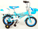 Blue Boy Beautiful Bicycle with Front and Rear Basket (SH-KB026)