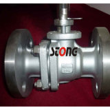 API RF 300lb Carbon Steel Flange Floating Ball Valve