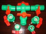 PPR Ball Valve with Plastic Ball