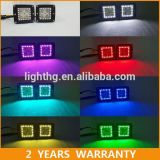 3′′ 12W RGB LED Pods with Halo Ring Wireless Controlled