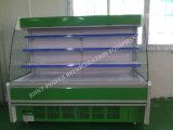 Factory Supply Built in Multideck Open Cooler for Vegetables Shop
