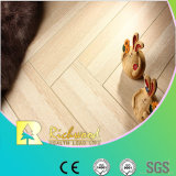 Household 12.3mm AC4 Crystal Cherry Water Resistant Laminated Flooring