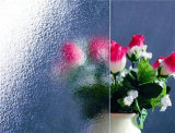 4mm Low Iron Diffused Mat Mat Glass with High Light Transmittance 91.5%