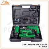 Powertec 3 in 1 Power Tool Set