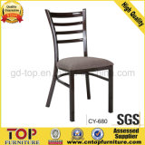 New Design Imitated Wood Coffee Dining Chair (CY-680)
