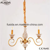Candle Bronze Chandelier Lighting for Home