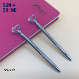 Promotional Items Silver Metal Pen Diamond Ball Point Pen
