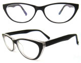 Double Color Cat Eye High Quality Cp Injection Eyewear