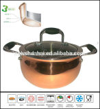 3 Ply Apple Shape Copper Soup Pot