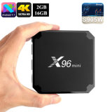 Kodi 17.3 X96mini Android TV Box Amlogic S905W Set Top Box Satellite Receiver Smart Media Player