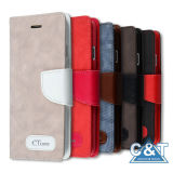 Folio Leather Wallet Card Slots Case for iPhone 6 Plus