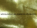 Aluminized Fiberglass Cloth for Reflective Insulation Glod Colored