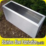 Rectangle Outdoor Stainless Steel Planter Pot for Garden Park