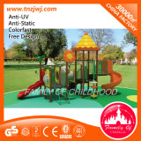 Outdoor Playground Curved Slide Playground Slide