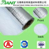 Reinforced Aluminum Film with White PVC (Flame retardant)