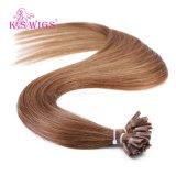 Human Hair Extension, 6A Grade Virgin Human Remy Hair