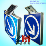 LED Solar Traffic Sign / Road Sign / Warning Board for Direction