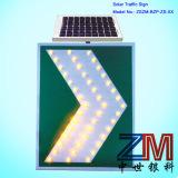 Aluminum Solar Powered LED Road Sign / Traffic Sign / Warning Sign