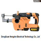Soft-Grip Handle Electrical Tool with Li-ion Battery and Dust Collection for Drilling (NZ80-01)