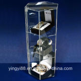 Wholesale Revolving Showcase Glass Display for Watch