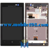 LCD Screen Display with Front Housing for Nokia Lumia 925 Mobile Phone Parts