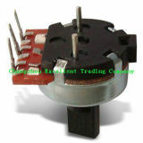 Precision Resistance Potentiometer with 3 Terminals and Knob