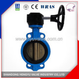 Midline Type Wafer Butterfly Valve with Aluminum Handlever