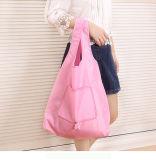 Invironmental Cotton 420d Oxford Foldable Shopping Bag Can Take More Than 20kg