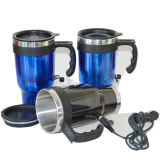 Double Wall Sainless Steel Electric Auto Mug Dn-041A
