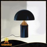 Black Metal Home Decoration Table Lamp (KAT6096)