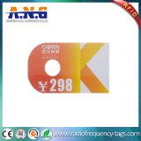 Irregular Shape Custom PVC Card / PVC Gift Card Plastic