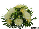 Artificial/Plastic/Silk Flower Rose/Chrysanthemum Mixed Bush (2918062)