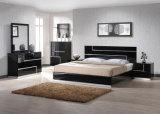 China Manufacturer Modern Home Hotel Furniture Black High Gloss Bedroom Sets (SZ-BFA8005)