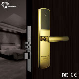 RFID Card Electronic Hotel Door Lock with PVD Coating