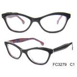 Fashionable High Quality Cat Eye Women Acetate Optical Glasses
