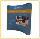 10ft Horizontal Curved Tension Fabric Exhibition Display