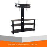 Three Tiers Tempered Glass TV Rack/ TV Stand/ TV Table with Lower Price