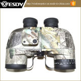 Tactical Gear Military 10X50 Navy Binoculars with Rangefinder Camo Color
