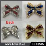 3 Colors Rhinestones Bow Brooch Wholesale