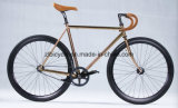 Copper Plated Single Speed Fix Gear Bicycle