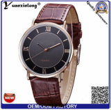 Yxl-846 Trendy Japan Movt Genuine Leather Private Label Quartz Hand Watch for Man